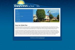 Days Inn White Pine Website Design