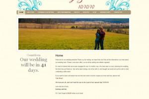 Lindsay and Ian's Wedding Website
